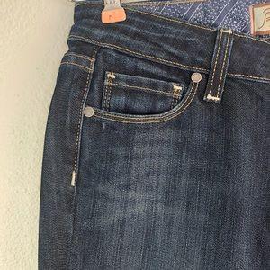 PAIGE Jeans - Paige laurel canyon low rise bootcut dark wash